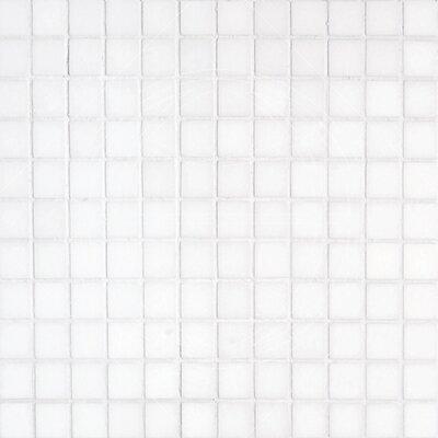 Thassos 1 x 1 Marble Mosaic Tile in White