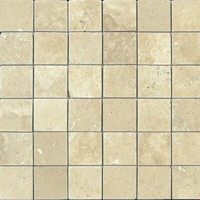 2 x 2 Travertine Mosaic Tile in Durango