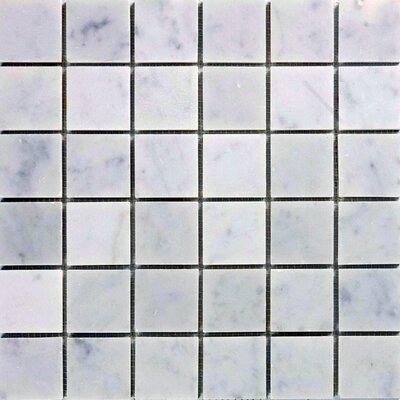 2 x 2 Marble Mosaic Tile in Italian Venatino