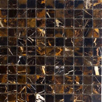 1 x 1 Marble Mosaic Tile in Michaelangelo