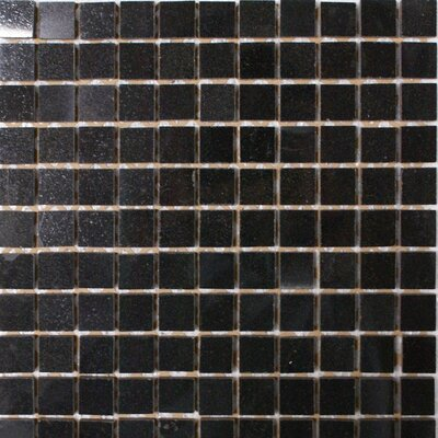 1 x 1 Granite Mosaic Tile in Absolute Black