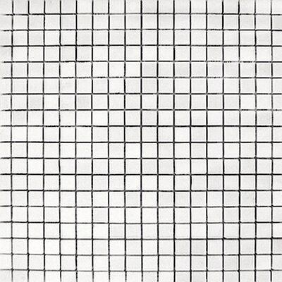 Thassos 0.625 x 0.625 Marble Mosaic Tile in White