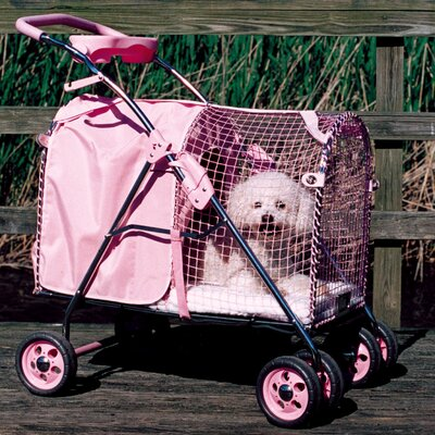 5th Avenue SUV Standard Pet Stroller Color: Pink