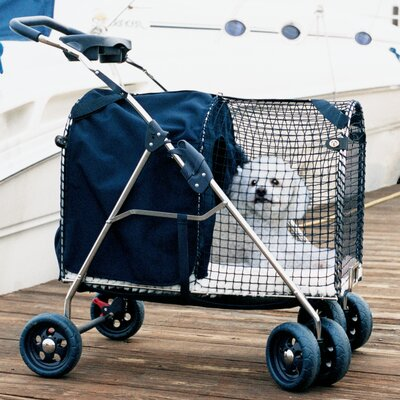 5th Avenue SUV Standard Pet Stroller Color: Blue