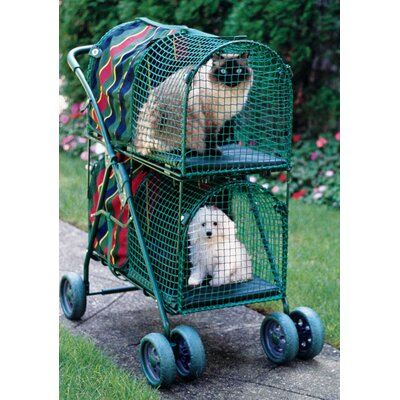 Double Decker Standard Pet Stroller KWPSDD100