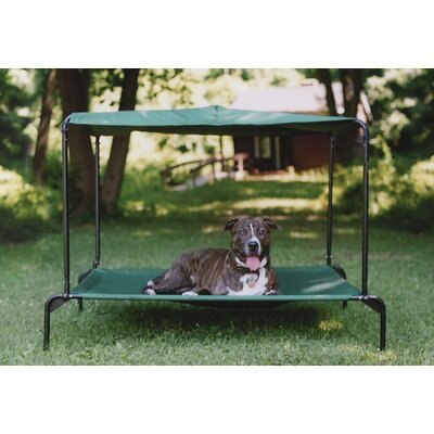 Puppywalk Indoor/Outdoor Ultra Breezy Dog Bed with Sun Shade