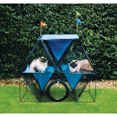 The Ferris Wheel� Outdoor Pet Enclosure