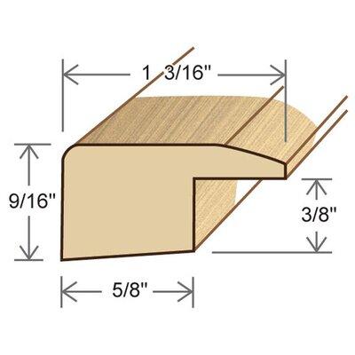 3.63 x 2.38 x 78.13 Pecan Square Nose