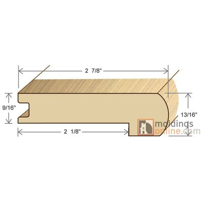 0.81 x 2 x 72 Stair Nose