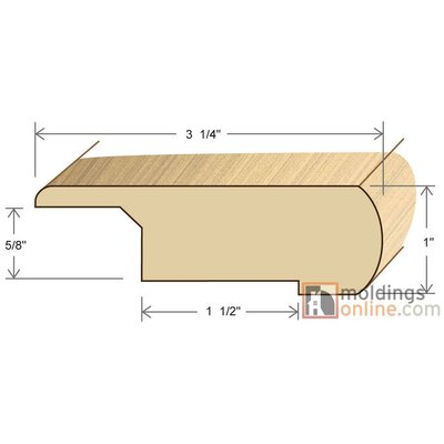 1 x 3.25 x 78 Stair Nose Olap