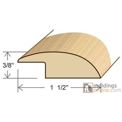 0.54 x 1.5 x 78 White Oak Reducer Overlap