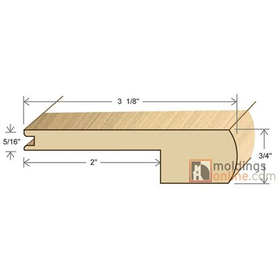 0.75 x 3.13 x 78 Stair Nose