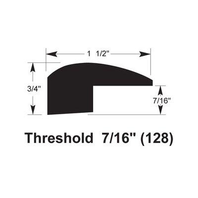 0.75 x 1.5 x 78 Threshold