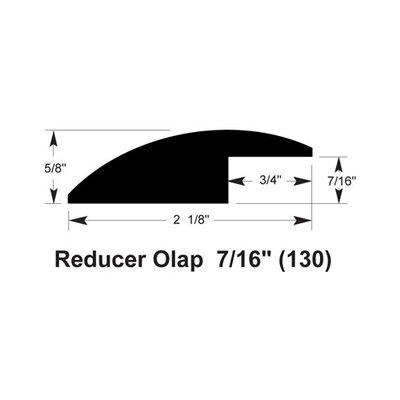 Furniture-0.63 x 2.13 x 78 Overlap Reducer