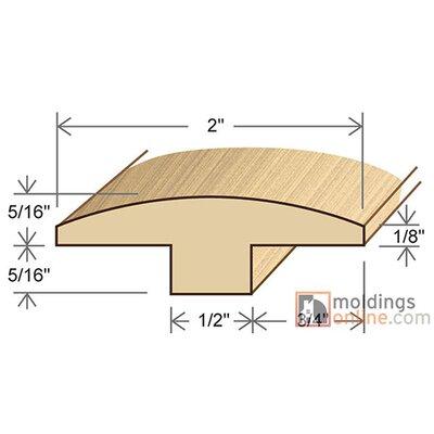 0.63 x 2 x 72 T-Molding