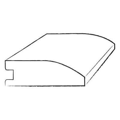 Furniture-0.34 x 1.5 x 78 Walnut Ridge Overlap Reducer