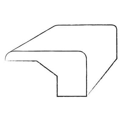 0.68 x 1.57 x 78 Oak Square Nose