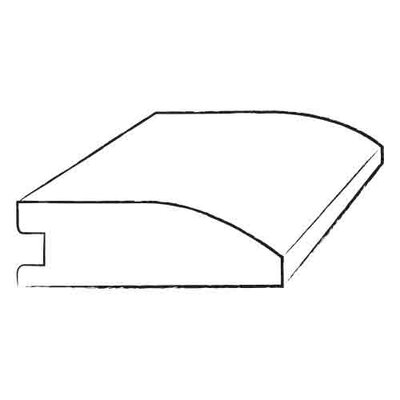 0.81? x 4.2? x 96? Samoan Mahogany Stair Nose