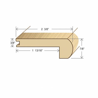 0.47 x 3.13 x 72 Stair Nose