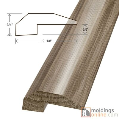 0.77 x 2.13 x 78 White Oak Threshold