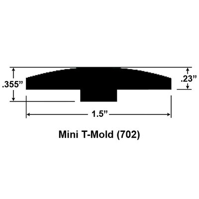 Furniture-0.59 x 1.5 x 78 Cherry M