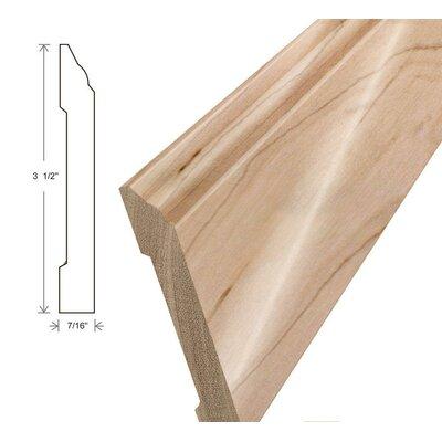 Furniture-0.44 x 3.5 x 96 Cherry Wall Base