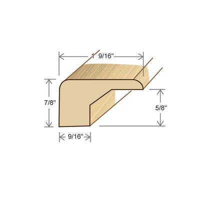 0.88 x 1.56 x 78 Birch Square Nose