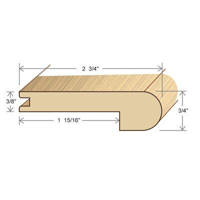 0.75 x 2.75 x 78 Oak Stair Nose