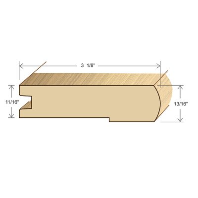 0.88 x 2.06 x 72 Stair Nose Olap