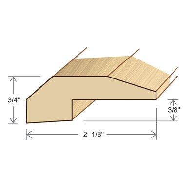 0.75 x 2.125 x 78 Pine Threshold