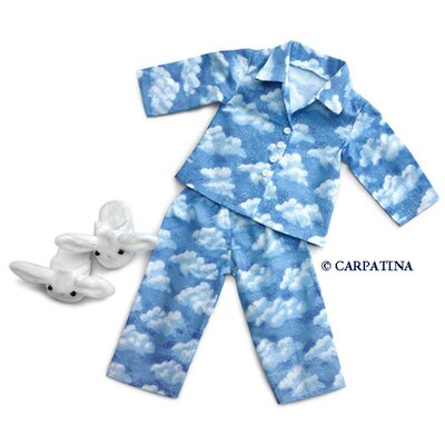 Carpatina American Girl Dolls Cloud Nine Pajamas and Bunny Slippers at Sears.com