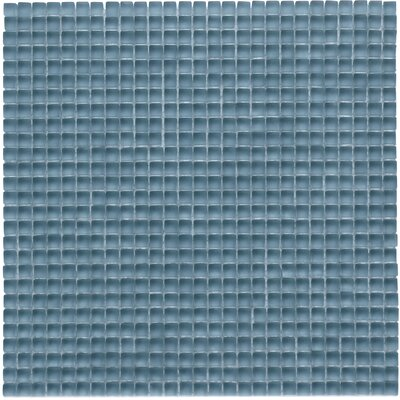 Atlantis 0.25 x 0.25 Glass Mosaic Tile in Dorado Blue