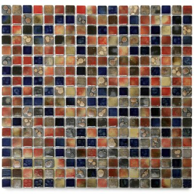 Terrene 0.6 x 0.6 Porcelain Mosaic Tile in Claypso Multi