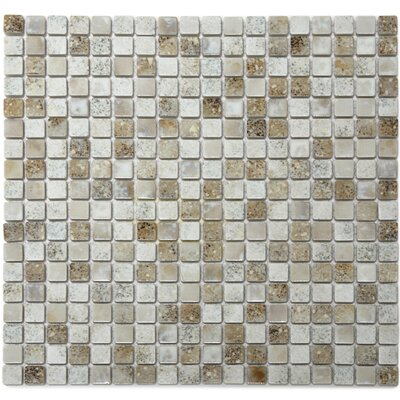 Terrene 0.6 x 0.6 Porcelain Mosaic Tile in Multi