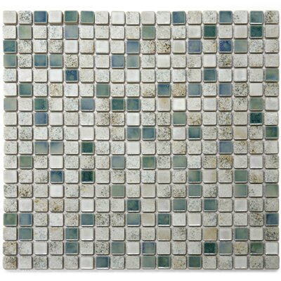 Terrene 0.6 x 0.6 Porcelain Mosaic Tile in Multi