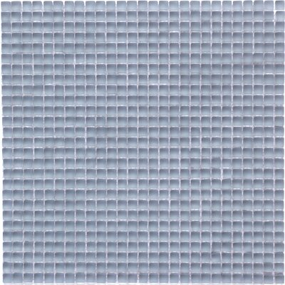 Atlantis 0.25 x 0.25 Glass Mosaic Tile in Damsel Blue