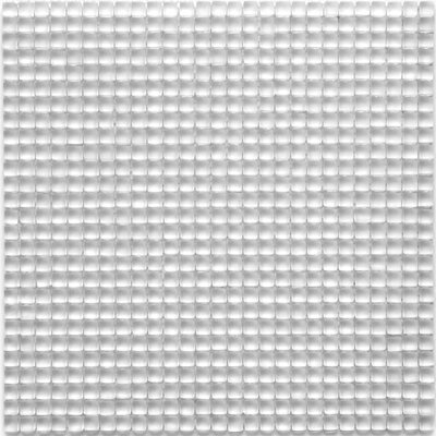 Atlantis 0.25 x 0.25 Glass Mosaic Tile in Anemone White