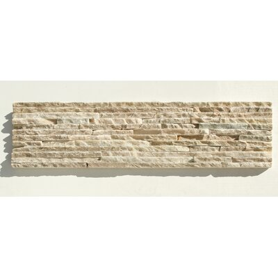 Portico Slate Random Sized Stone Splitface Tile in Beige