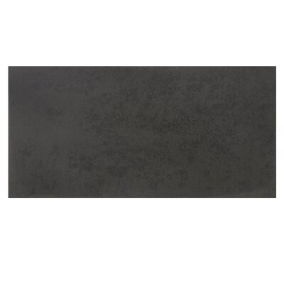 Basalt Honed 15 x 30 Basalt Leather Look/Field Tile in Gray