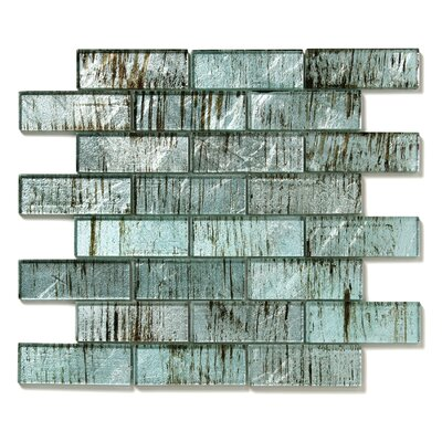 Folia Glass Subway Tile in Wisteria