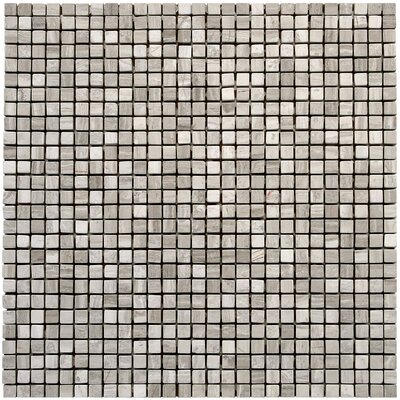 Micro 0.375 x 0.375 Marble Mosaic Tile in Haisa Light