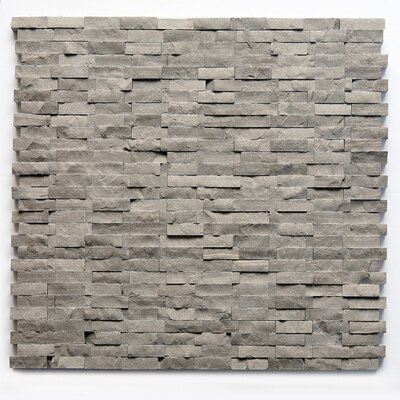 0.5 x 0.75 Marble Mosaic Tile in Haisa Dark