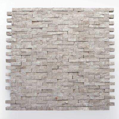 0.5 x 0.75 Marble Mosaic Tile in Haisa Light