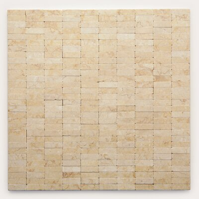 Post Modern Marble Mosaic Tile in Sisley