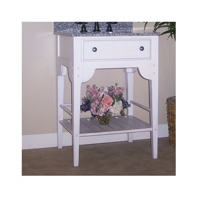 Dover 24 Bathroom Vanity Base Base Finish: Cottage White