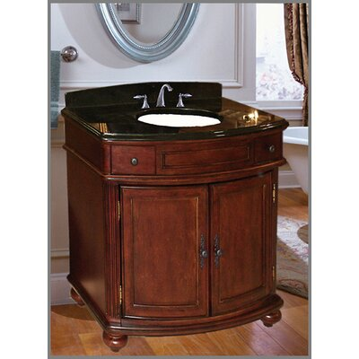 Arlington 36.7 Two Door Bathroom Vanity Base Base Finish: Distressed Cherry