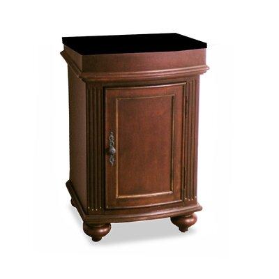 Arlington 24 Single Door Bathroom Vanity Base Base Finish: Distressed Cherry