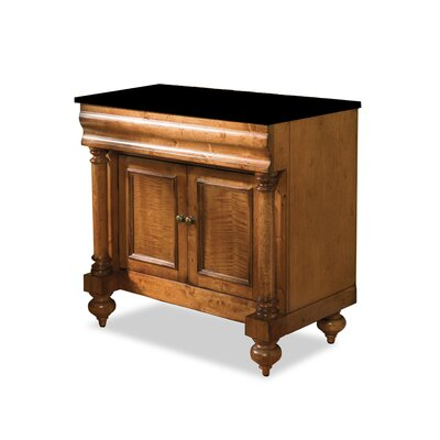 Guild Hall 36 Distressed Bathroom Vanity Base Base Finish: Distressed Pecan