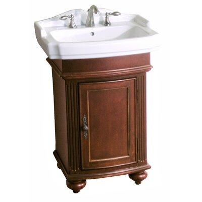 Arlington 23 Single Bathroom Vanity Set Base Finish: Distressed Cherry