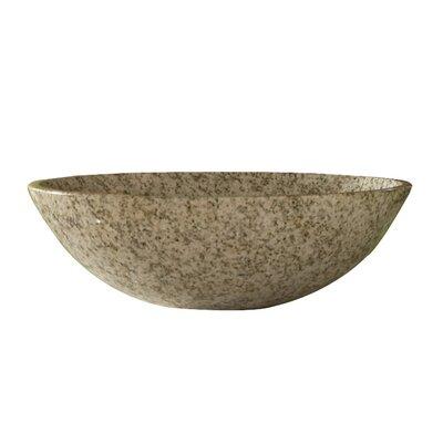 Arlington Stone Circular Vessel Bathroom Sink